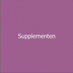 supplementen pendelen